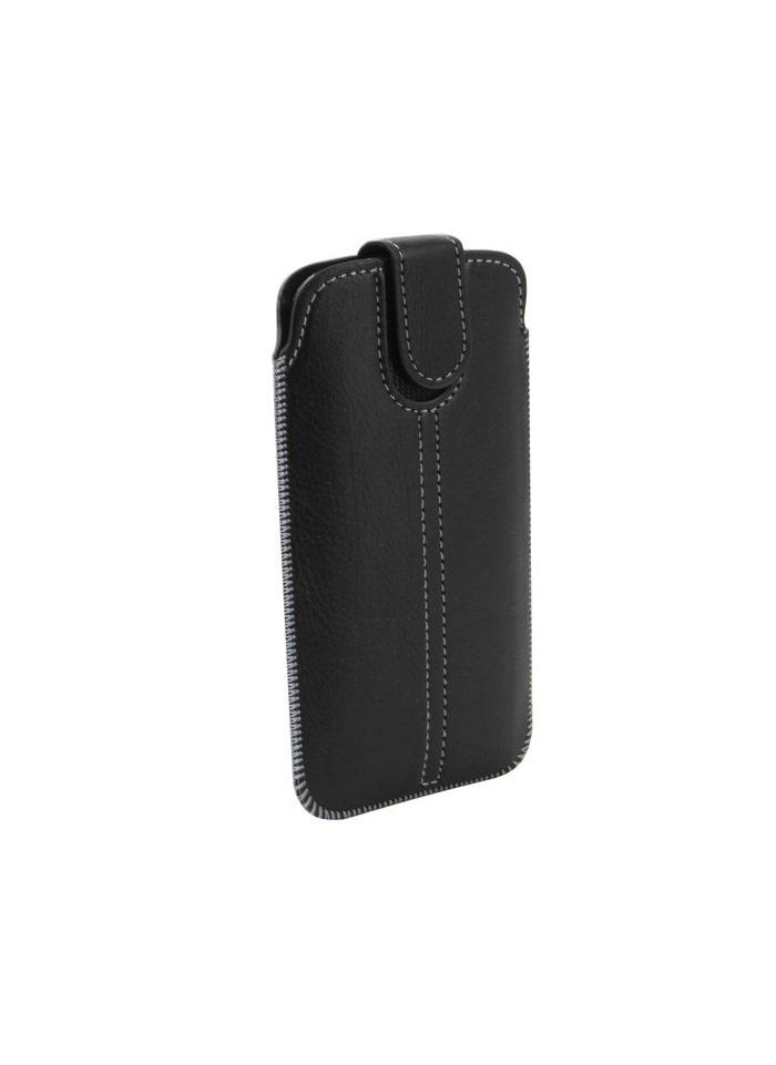 """Чехол универсальный с вытяжной лентой NEYPO для смартфонов до 5,2"""" (73x143 мм) (черный) Samsung S5"""