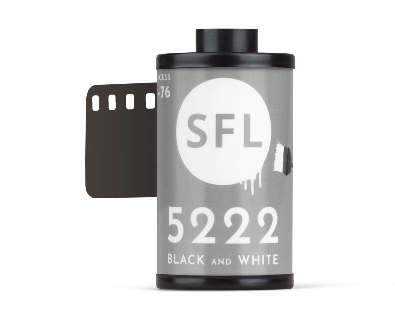 фотопленка sfl kodak double-x 5222 (135/36) ч/б негативная в кассете