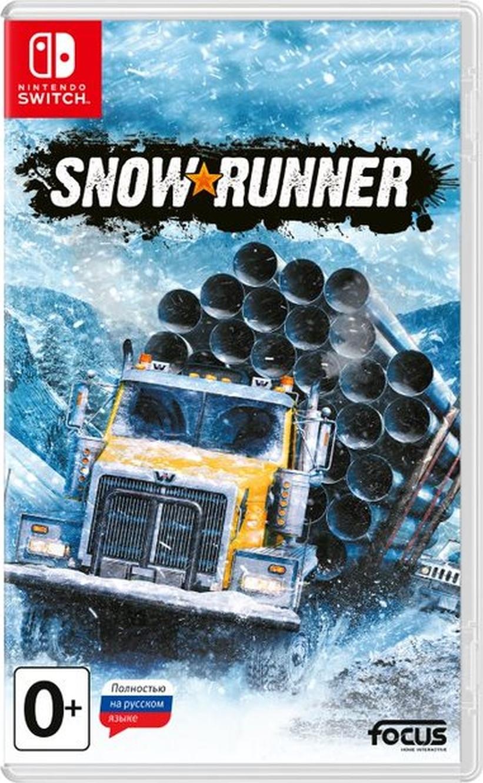 Игра SnowRunner (Nintendo Switch, Русская версия)