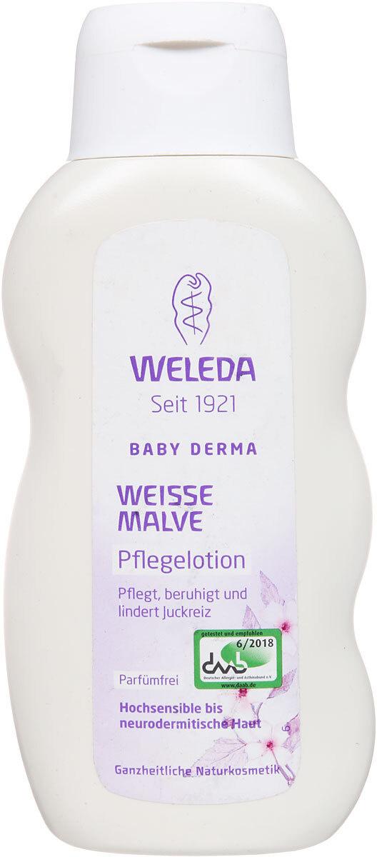"""Weleda Молочко для тела """"Baby Derma"""", для гиперчувствительной кожи, с алтеем, 200 мл  #1"""