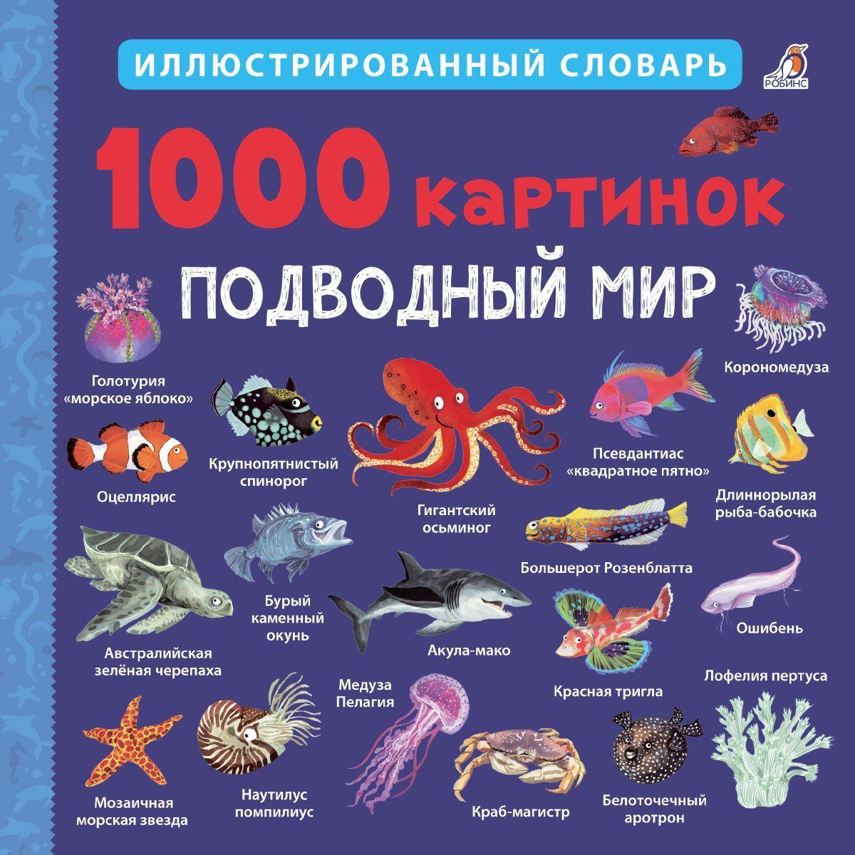 1000 картинок. Подводный мир #1