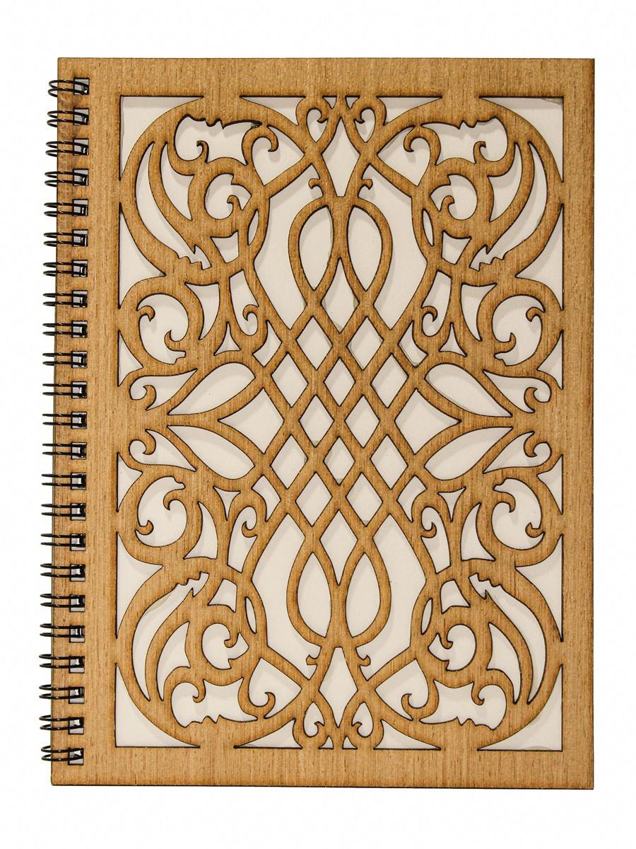Блокнот А5 с деревянной обложкой #1