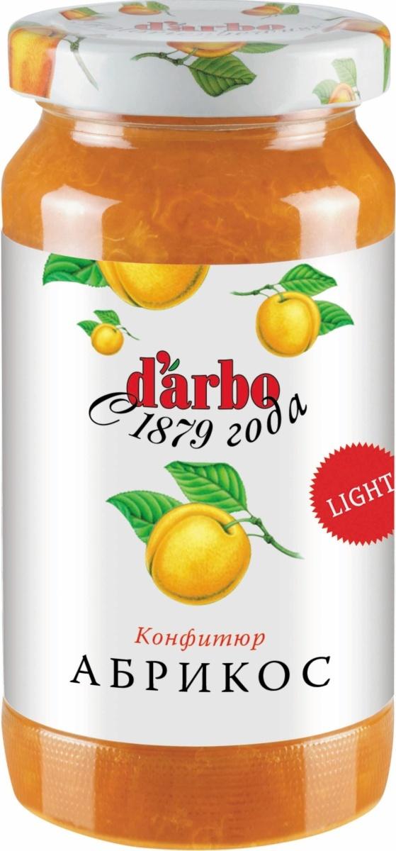 Конфитюр D'Arbo Абрикос, с пониженной калорийностью, 220 г  #1