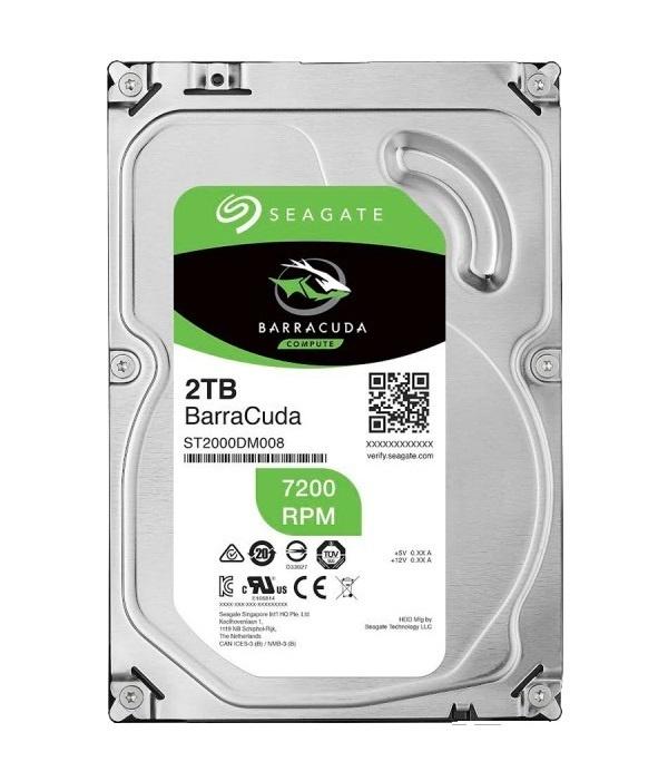 2 ТБ Внутренний жесткий диск Seagate BarraCuda (ST2000DM008) #1