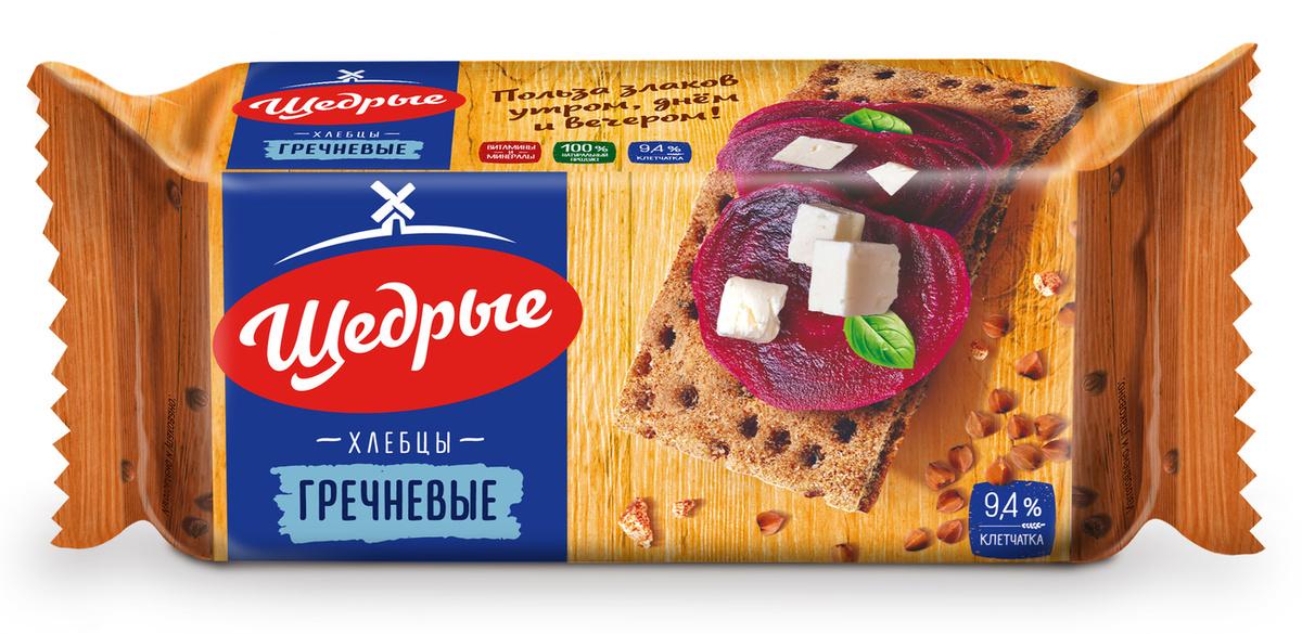 Хлебцы Щедрые Гречневые, 100 г х 32 шт #1