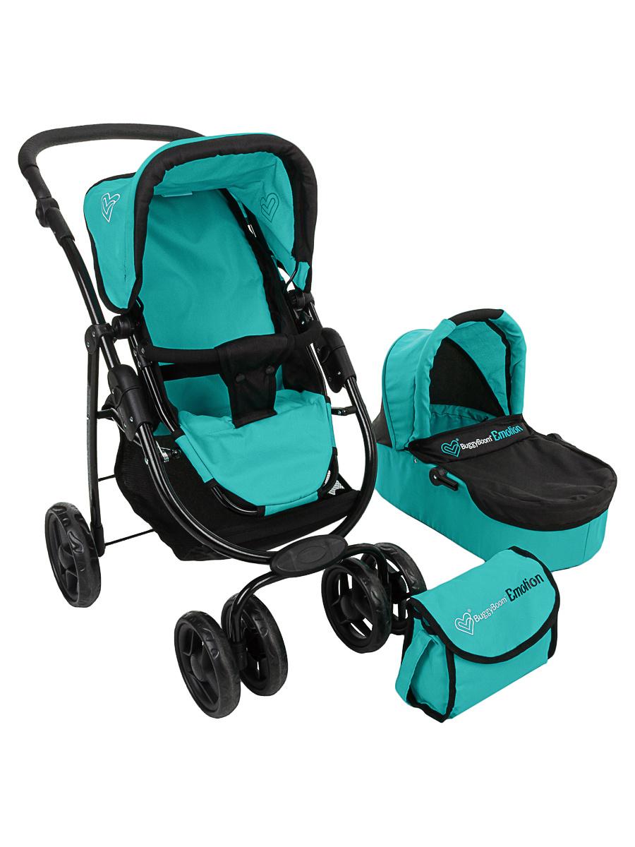 Детская игрушечная прогулочная коляска-трансформер Buggy Boom для кукол Amidea 9000 3-в-1 с люлькой-переноской #1