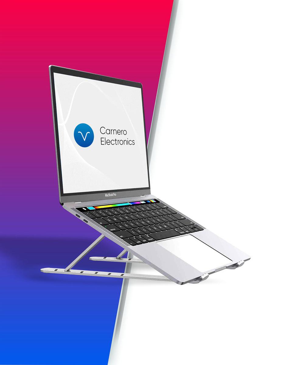 Подставка для ноутбука складная переносная с чехлом Carnero Electronics N23-9  #1