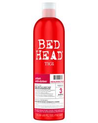 TIGI BED HEAD Urban Anti+Dotes Resurrection Шампунь для сильно поврежденных волос уровень 3 750 мл. Уход за волосами от профессионалов