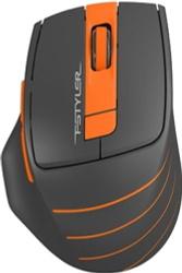 Мышь беспроводная A4Tech Fstyler FG30S серый/оранжевый (FG30S-ORANGE), оранжевый. Аксессуары