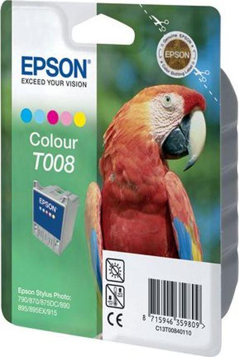 Картридж Epson для Stylus Photo 790/870/890, C13T00840110