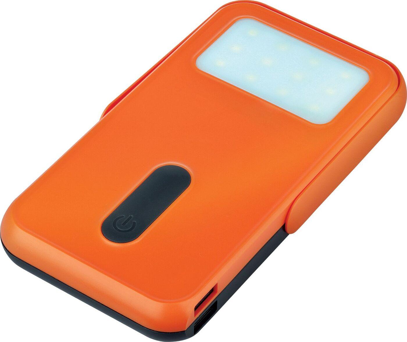 Внешний аккумулятор Qumo PowerAid Tourist Solar 2, черный, оранжевый цена и фото