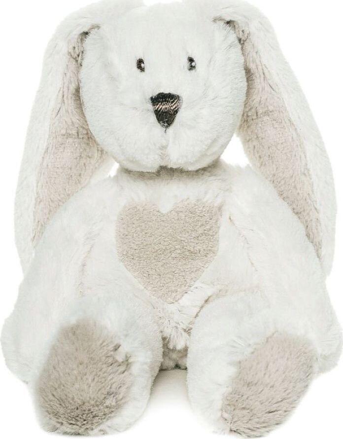 Мягкая игрушка Teddykompaniet Кролик, белый, 22 см