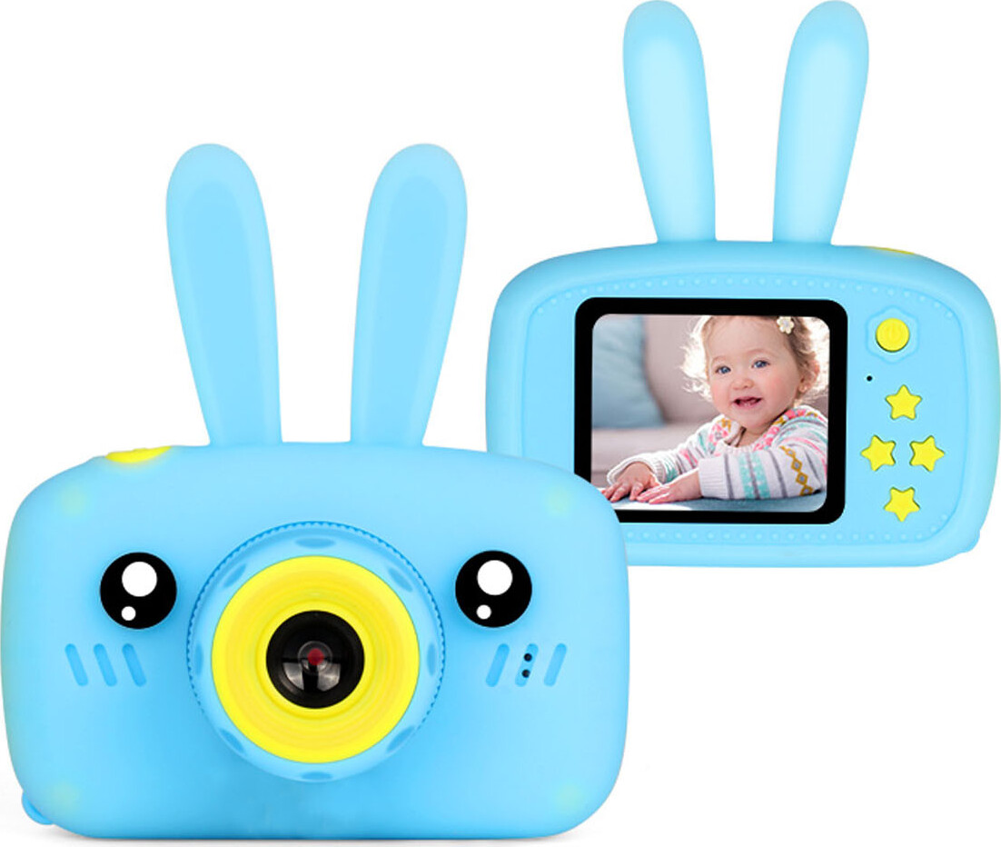 Фотоаппарат ZUP Childrens Fun Camera Rabbit, голубай, 1893 кабель zup кабель браслет zup 1272 салатовый