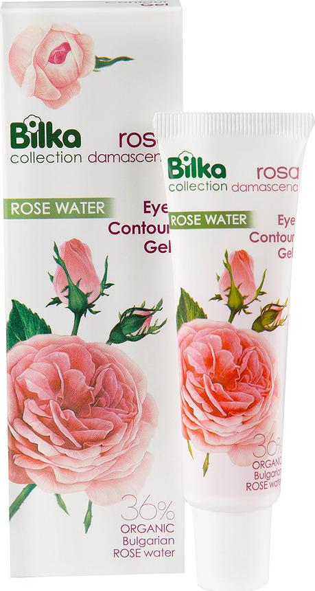 Гель для ухода за кожей BILKA Гель для кожи вокруг глаз ROSA Damascena, 25 мл Bilka