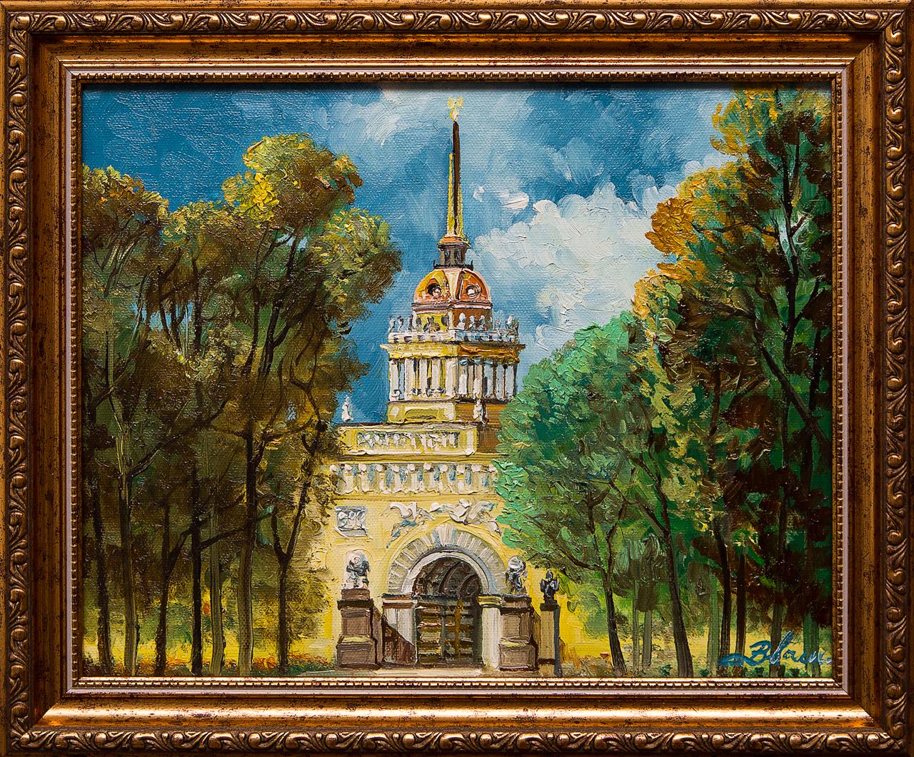 Картина маслом Адмиралтейство Васильев