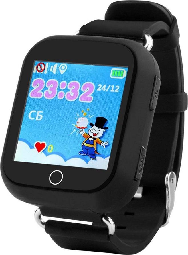 Часы Smart Baby Watch Q750 (Черные) q100 q750 smart watch phone baby children kids gps tracker 1 54 touch screen wifi location sos anti lost device safe pk q50 q90
