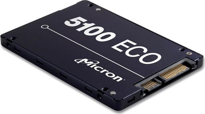 SSD накопитель Micron 5100 Eco 960GB, MTFDDAK960TBY-1AR1ZABYY внутренний ssd накопитель 960gb patriot burst pbu960gs25ssdr sata3 2 5