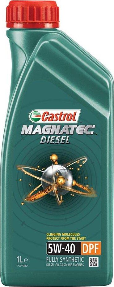 Моторное масло CASTROL Magnatec Diesel DPF, синтетическое, 5W-40, 1 л 156EDC