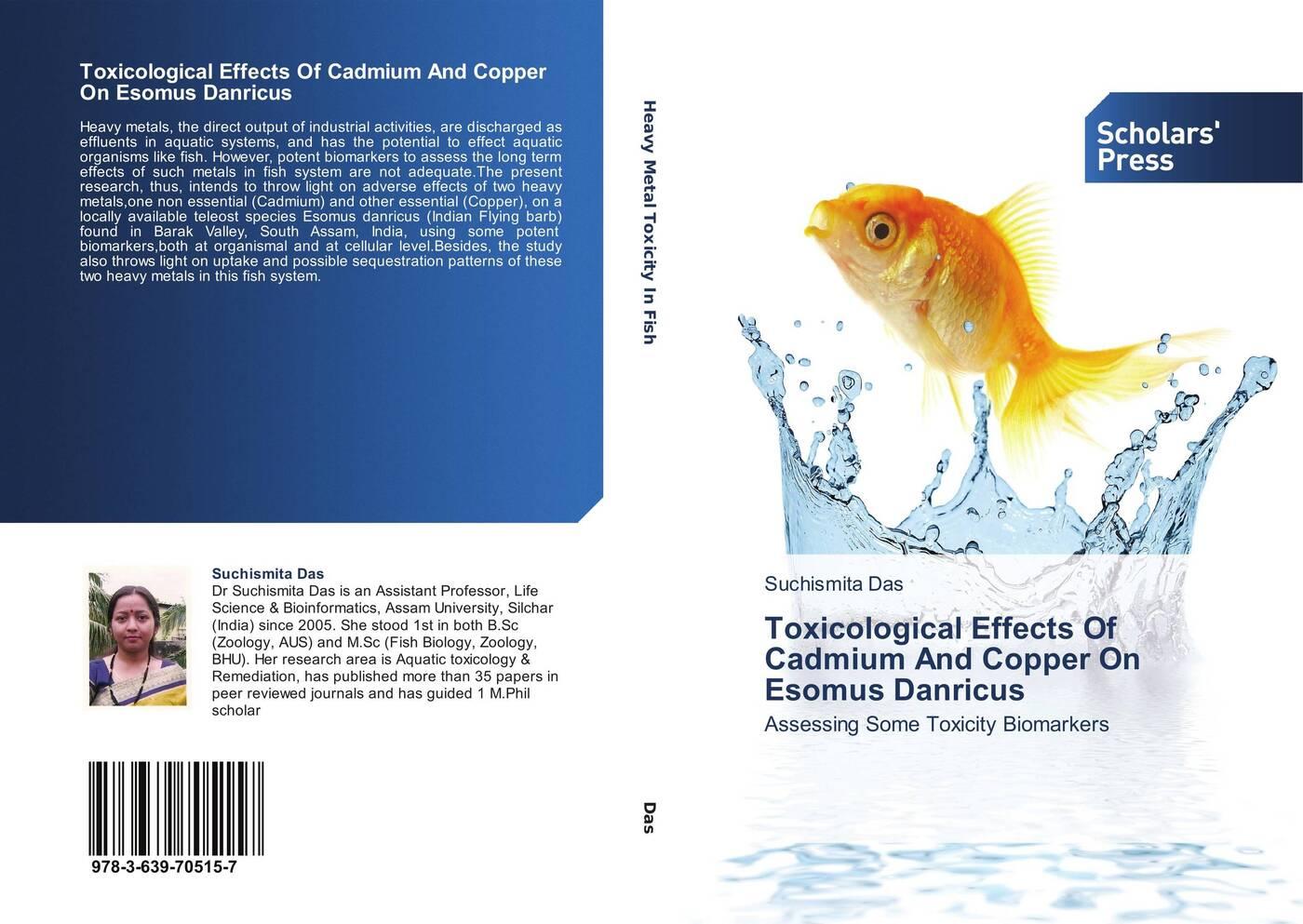 цены на Suchismita Das Toxicological Effects Of Cadmium And Copper On Esomus Danricus  в интернет-магазинах