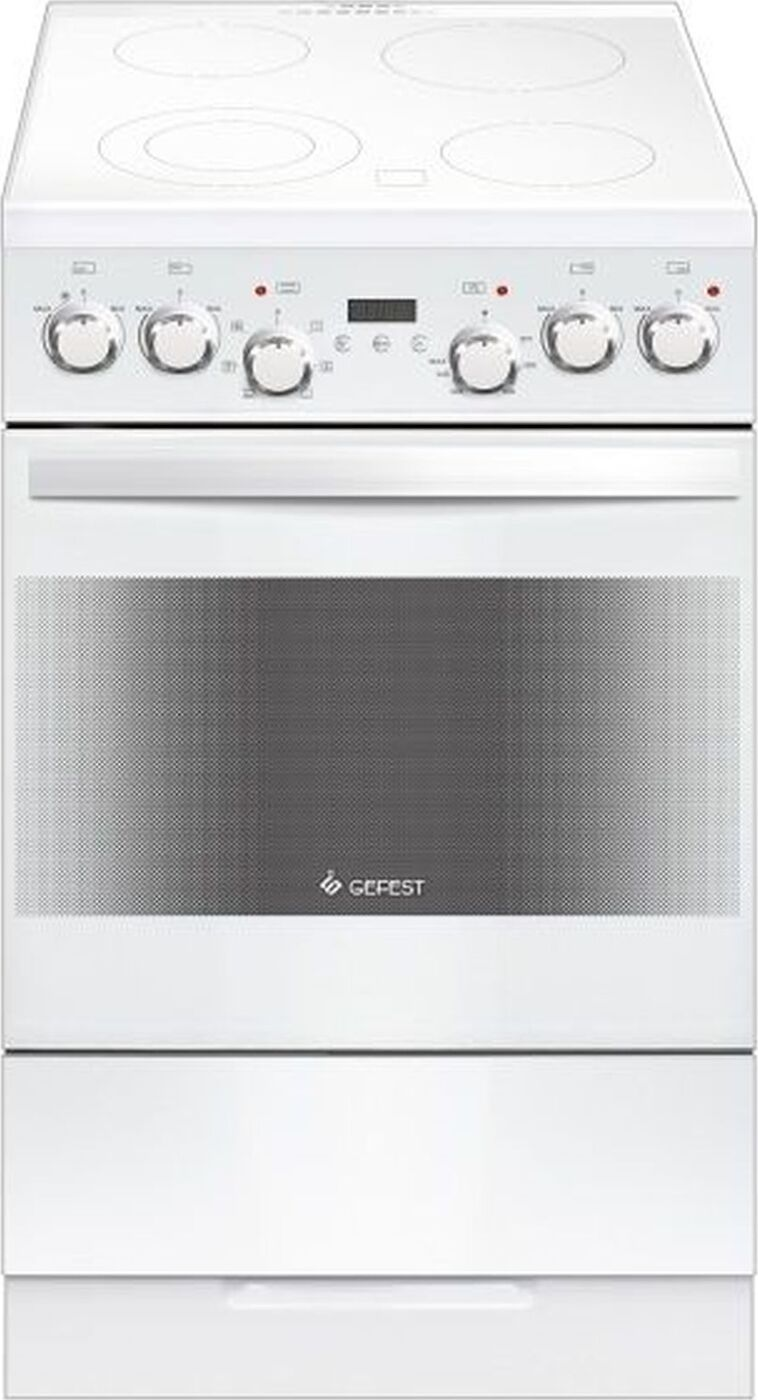 Кухонная плита Gefest 5560-03 0052, белый