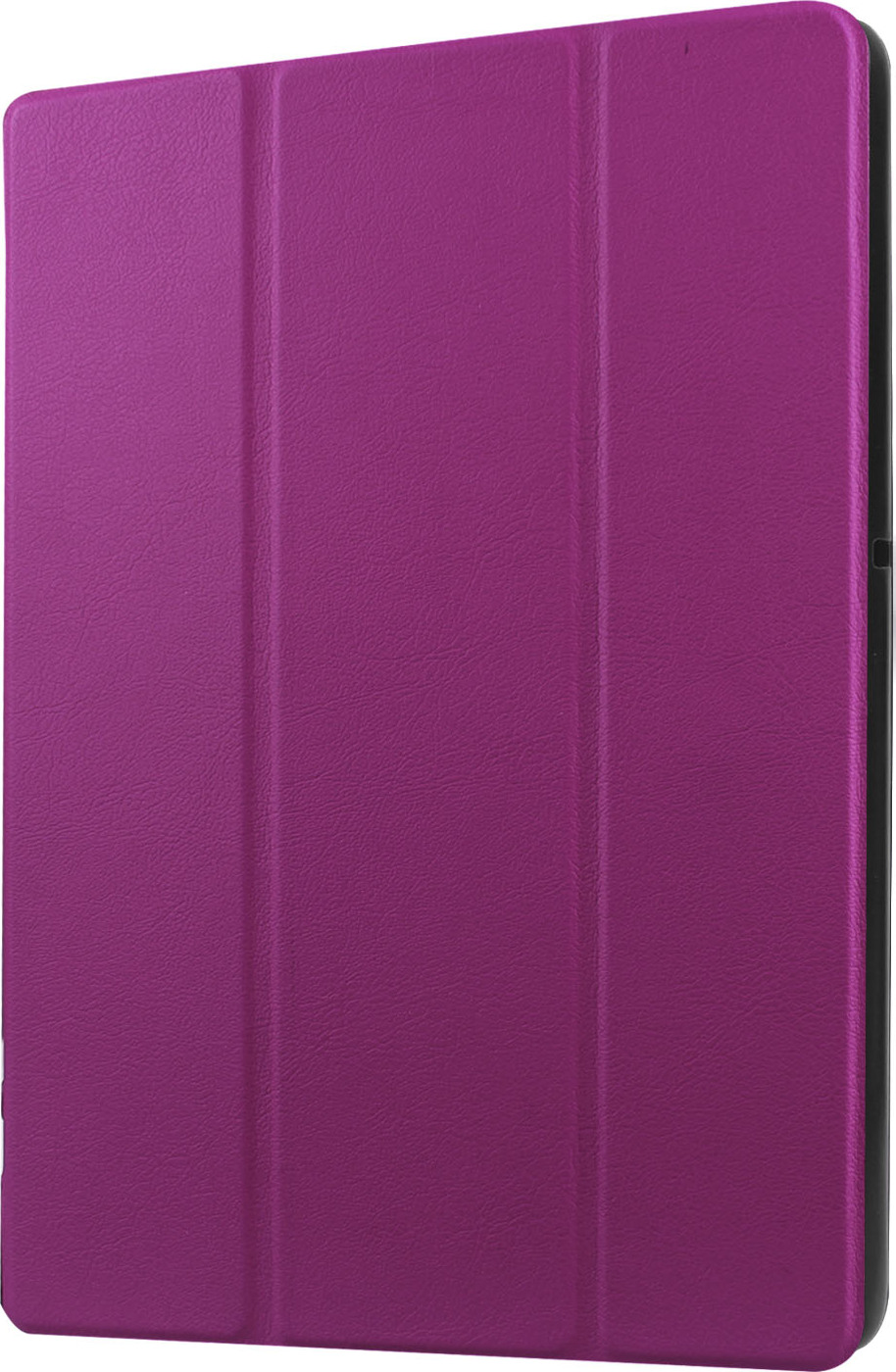Чехол-обложка MyPads для Huawei MediaPad M2 7.0 (PLE-703L) тонкий умный кожаный на пластиковой основе с трансформацией в подставку фиолетовый