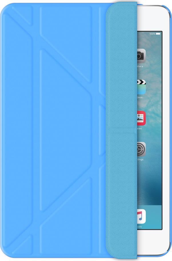 Чехол-подставка Wallet Onzo для Apple iPad mini 4, голубой, Deppa