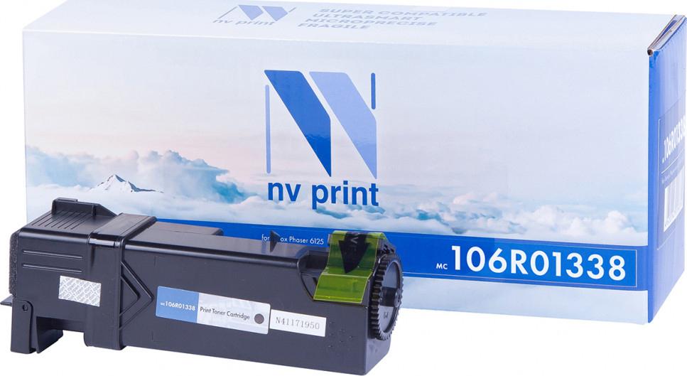 Тонер-картридж NV Print 106R01338, черный, для лазерного принтера
