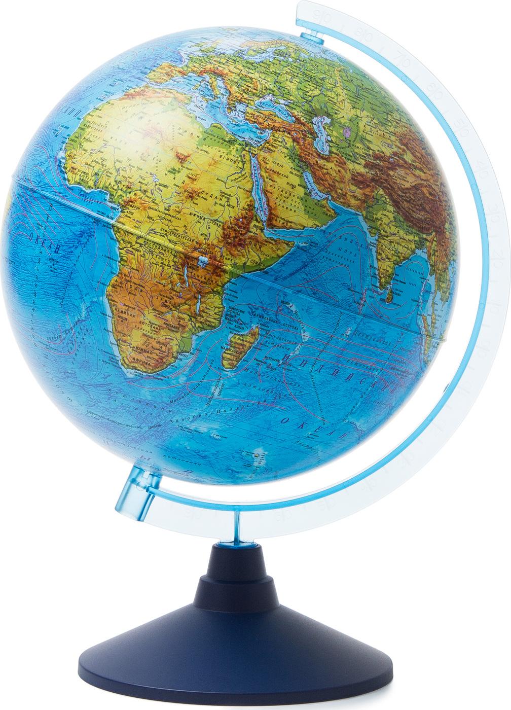 Глобус Земли физический Globen, диаметр 25 см.
