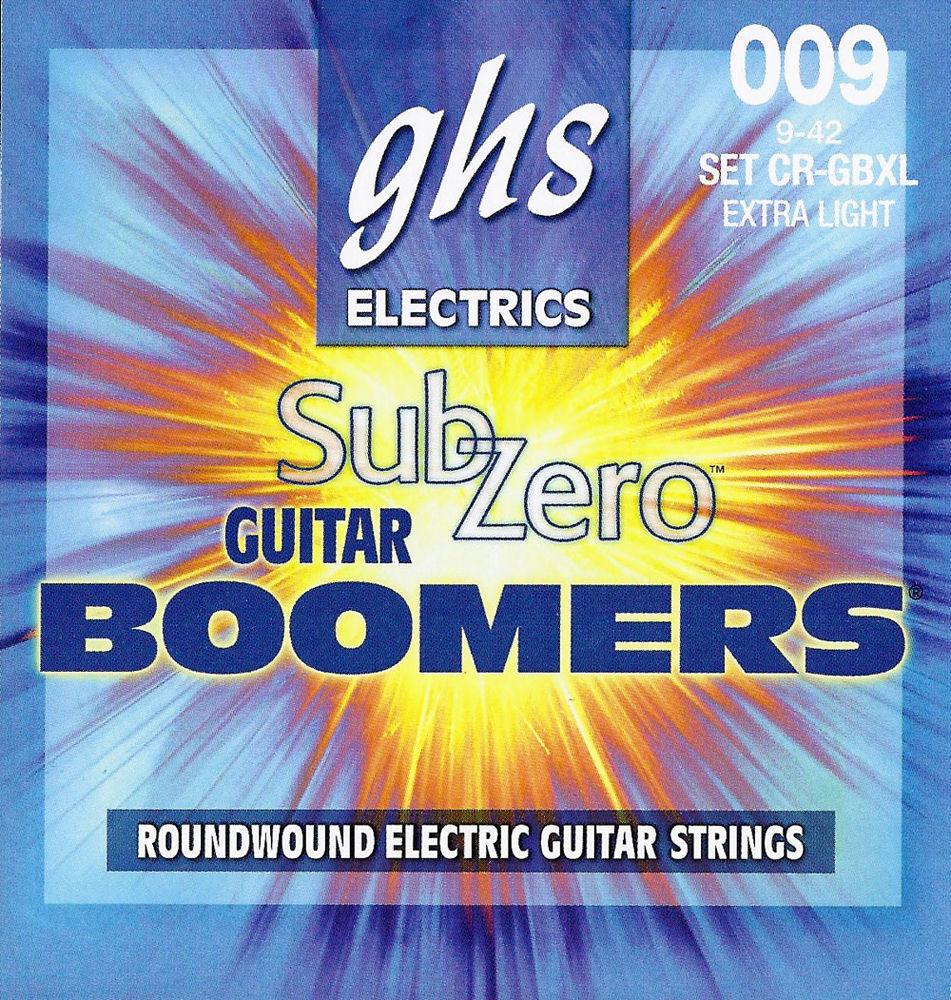 GHS CR-GBXL Струны для электрогитары (09-42)