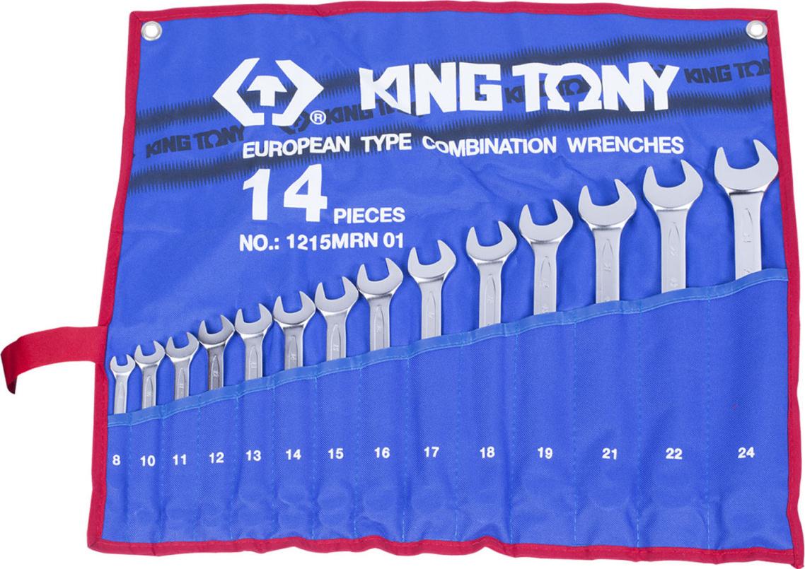 Набор ключей KING TONY 1215MRN01