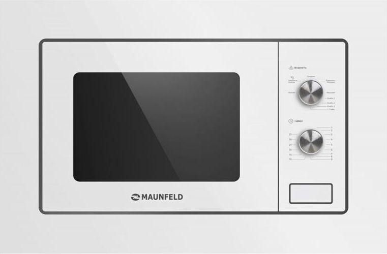 Встраиваемая микроволновая печь MAUNFELD MBMO.20.2PGW, белый