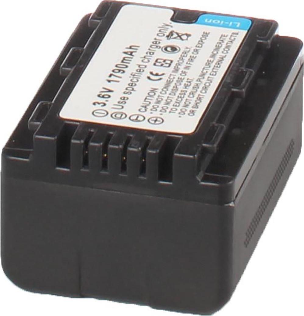 Аккумуляторная батарея iBatt iB-T1-F232 1500mAh для камер Panasonic HC-V500, HC-V100, SDR-S50, HDC-SD40, HC-V700, HC-V10, HDC-SD60, SDR-S70, HDC-TM80, HDC-SD90, HDC-SD80, SDR-H85, HDC-HS60, HDC-TM60, SDR-S45, HDC-HS80, SDR-T50, SDR-H100, SDR-H95,
