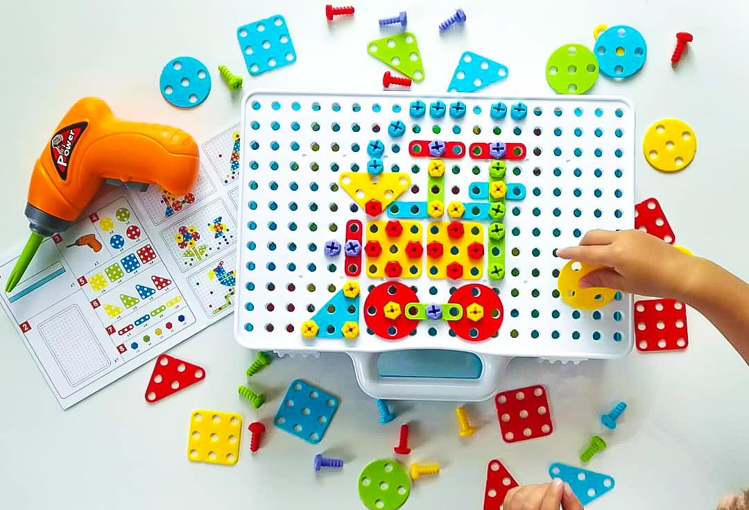 Детский развивающий конструктор Create and Play в Новомосковске