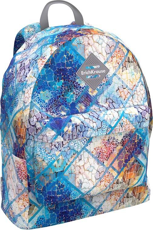 Рюкзак детский ErichKrause ErgoLine Sky Dream, 48434, голубой, 17 л, 40 х 41 х 4 см