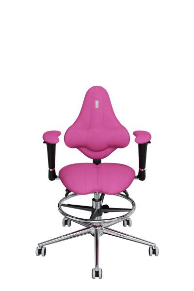 Детское компьютерное кресло KULIK SYSTEM KIDS Розовый