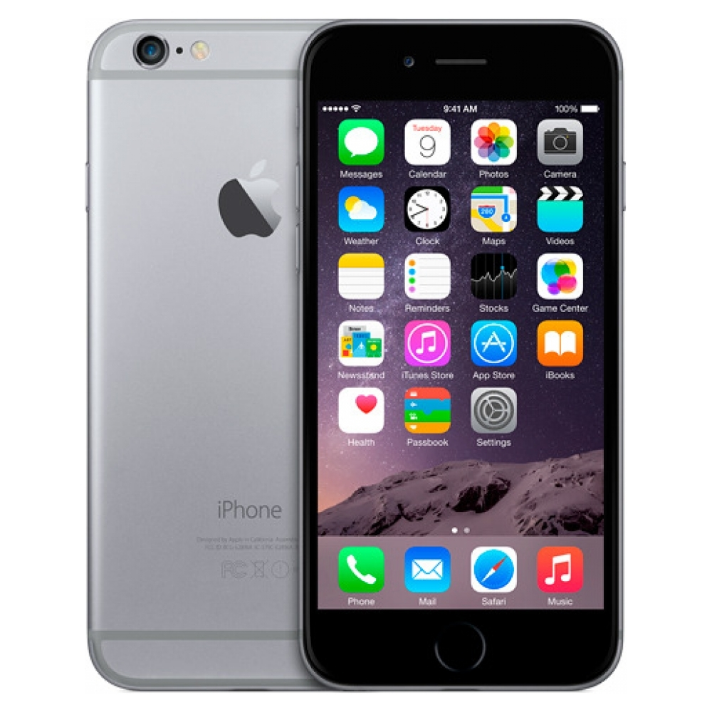 Смартфон Apple iPhone 6 1/64GB, серый