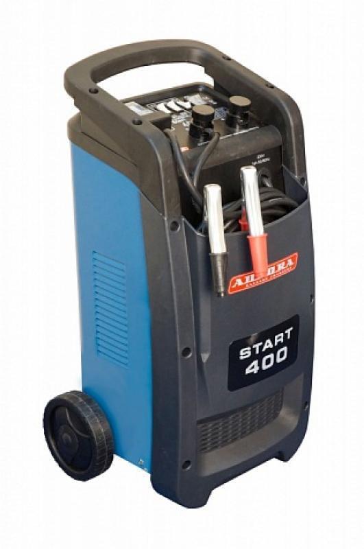 Профессиональное пуско-зарядное сетевое устройство Aurora START 400 BLUE 12 24В