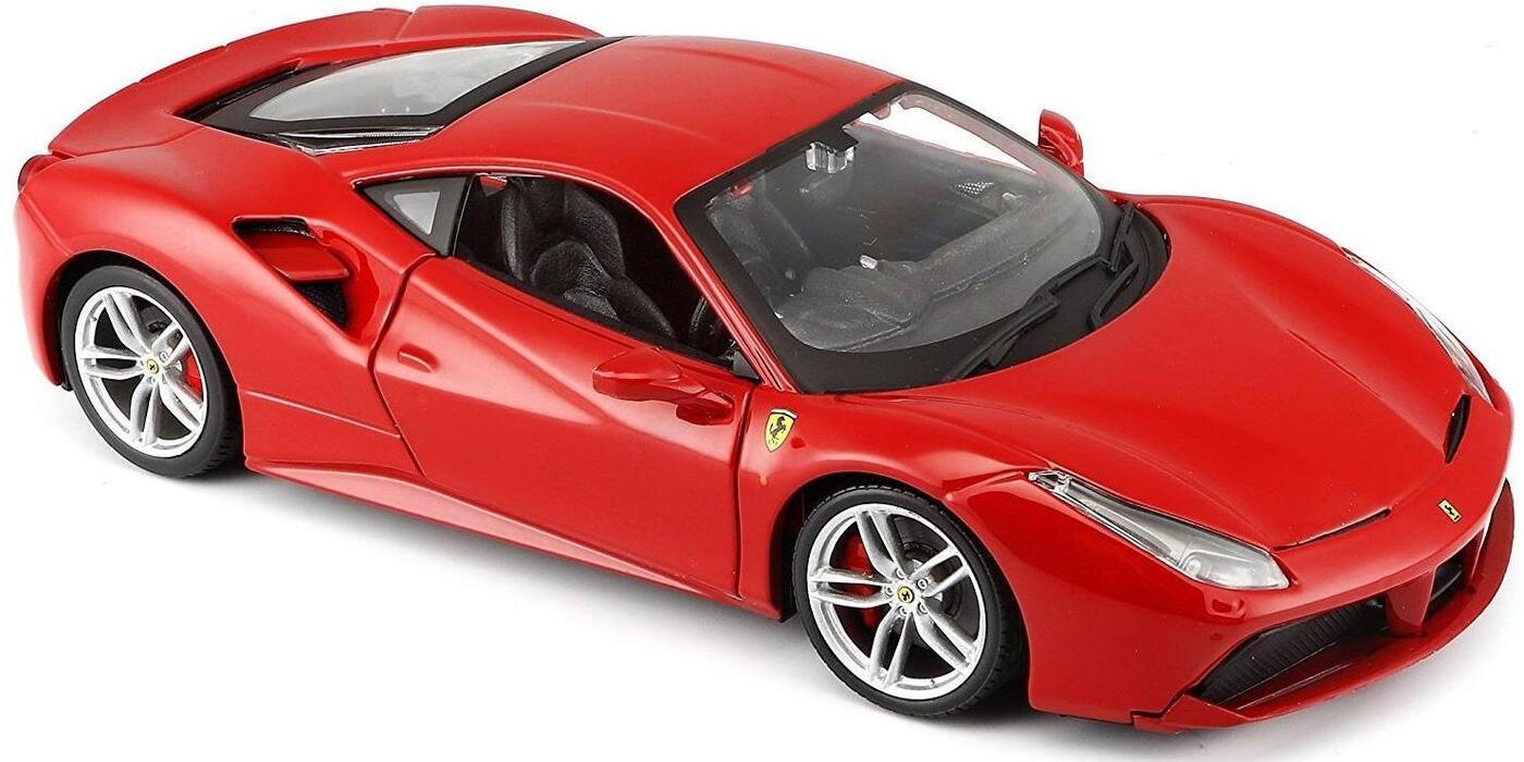 "Maisto ""Машинка сборная, красная - Ferrari 488 GTB 1:24"""