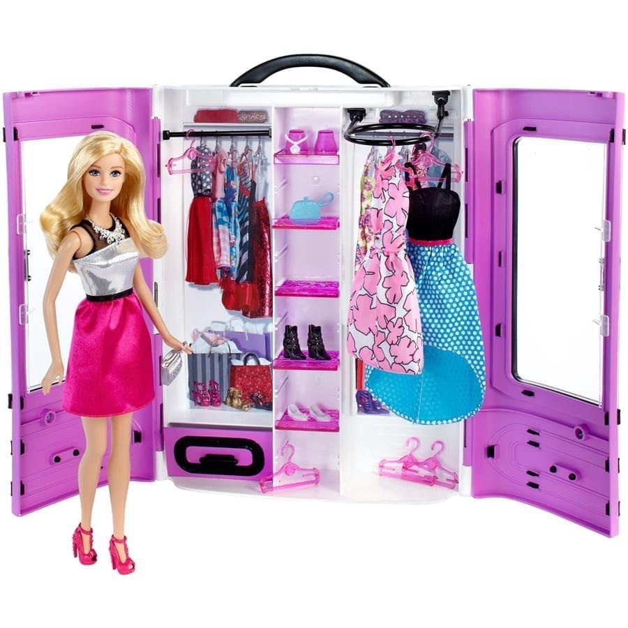 цвет картинки барби куклы с одеждой является
