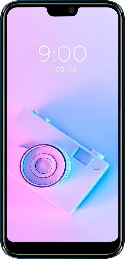 смартфон bq 5731l magic s  3/32gb, красный. уцененный товар