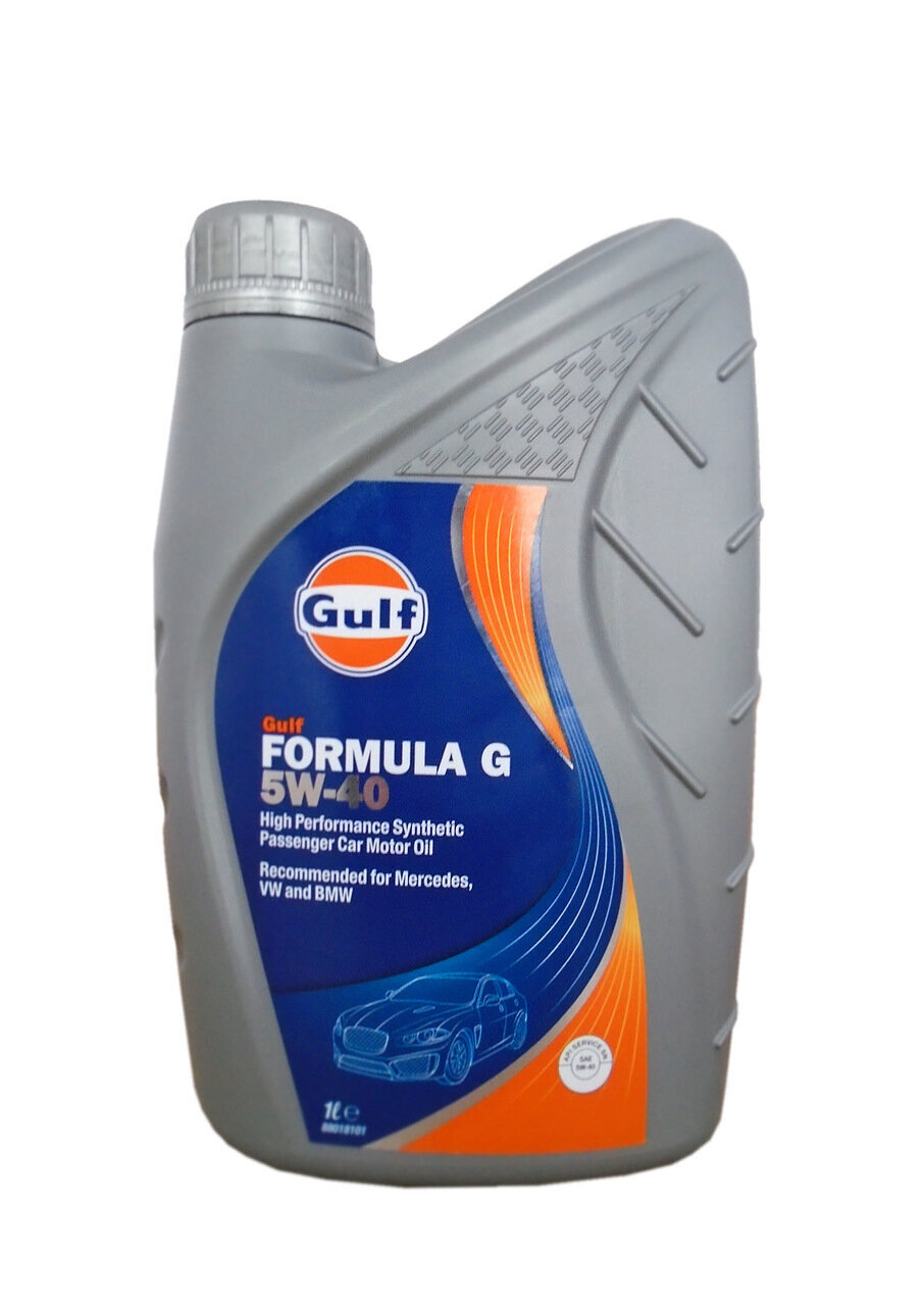 Моторное масло GULF Formula G SAE 5W-40 (1л)