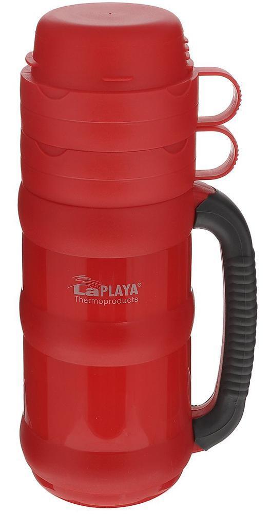 Термос LaPlaya Traditional 35-50 (0,5 литра) со стеклянной колбой, красный (560003)