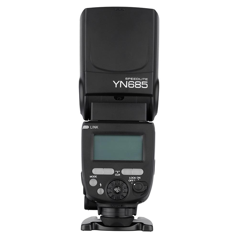 YONGNUO YN685 E-TTL HSS 1/8000s GN60 2.4 G беспроводной вспы