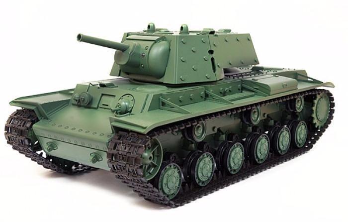 Радиоуправляемый танк Heng Long Russia КВ-1 1:16 2.4G - 3878-1 V6.0