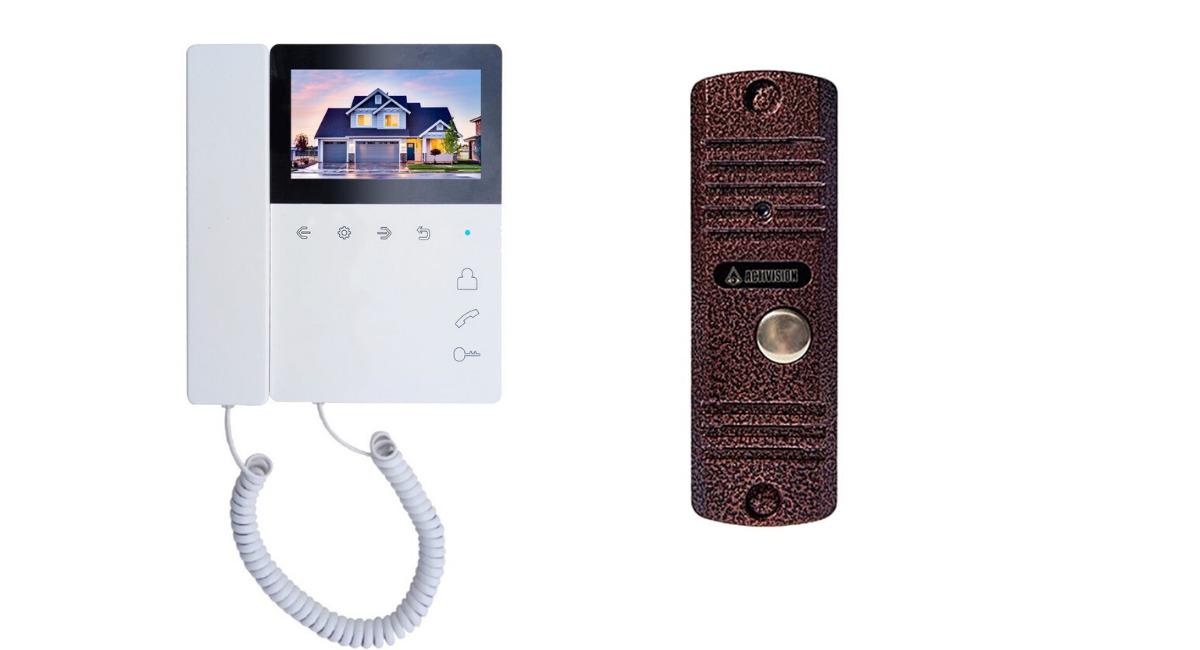 Комплект видеодомофона Tantos Elly и AVC 305