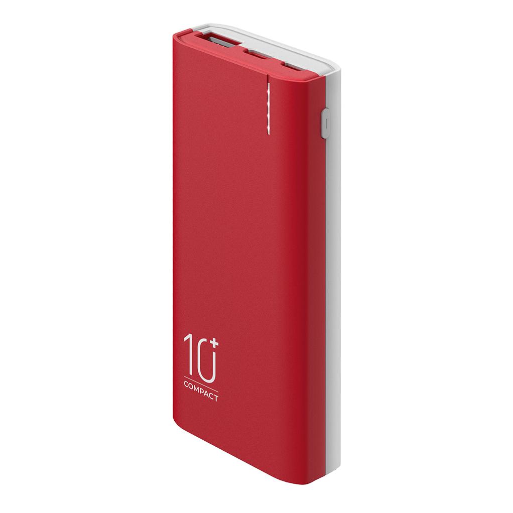 Внешний аккумулятор C-10, 10000mAh, red, OLMIO