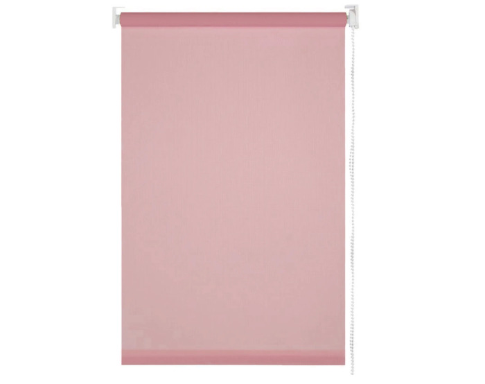 Штора рулонная 70х155 см цвет розовый-20221