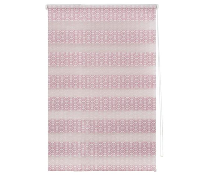 Штора рулонная, 50х160 см, цвет розовый-21145