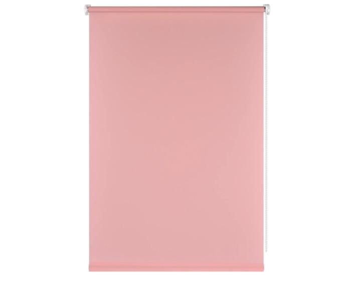 Штора рулонная, 40x160 см, цвет розовый-20404