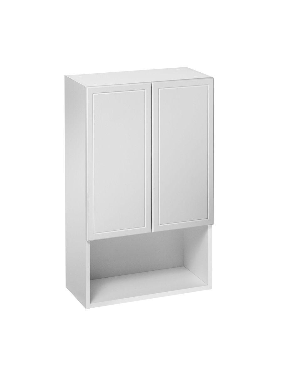 Шкаф навесной DeRossa, 50х24х80 см, с открытой полкой ПШ 500х800, матовый, Универсальный